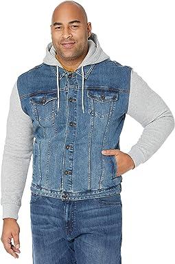 Big & Tall Taylor Fleece Denim Jacket
