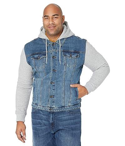Johnny Bigg Big Tall Taylor Fleece Denim Jacket (Sky) Men