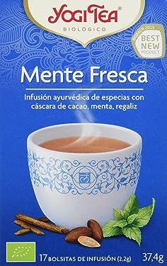 Yogi Tea Infusión de Hierbas Mente Fresca - 17 bolsitas - [pack de 3]