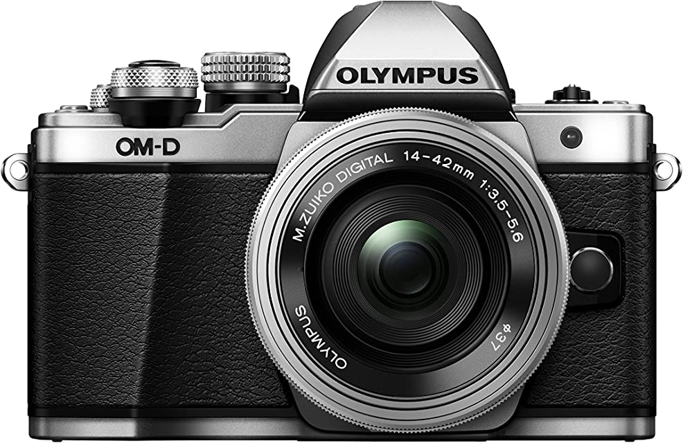 Olympus OM-D E-M10 Mark II - Kit con Cámara de Sistema Micro Cuatro Tercios y Objetivo M.Zuiko 14-42 mm EZ Plata