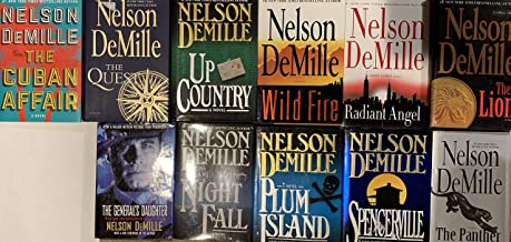Nelson Demille Hardcover Novel Collection 11 Book Set