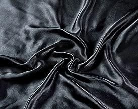 black satin twin sheets