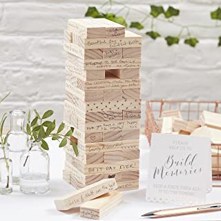 jenga guest book alternative