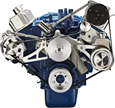 Serpentine Pulley System for Ford 390 FE - Alternator, Power Steering & A/C Applications