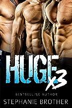 HUGE X3 - A MFMM Menage Stepbrother Romance (HUGE SERIES) (English Edition)