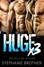 HUGE X3 - A MFMM Menage Stepbrother Romance (HUGE SERIES)