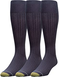 Gold Toe Men's Canterbury Over-the-Calf Dress Socks