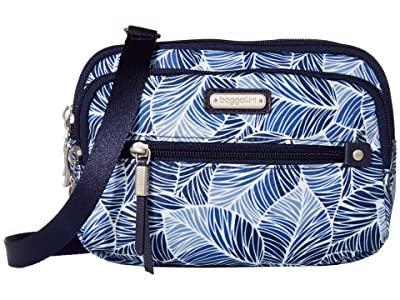 Baggallini New Classic Time Zone RFID Crossbody Bag (Maui) Cross Body Handbags