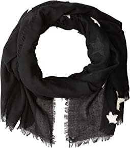 Textured Star Scarf