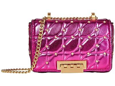 ZAC Zac Posen Earthette Small Soft Chain Shoulder Metallic (Orchid) Handbags