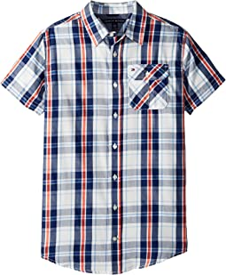 Tommy Hilfiger Kids - Short Sleeve Hong Shirt (Big Kids)