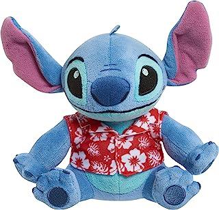 Disney Stitch Bean - Playera Hawaiana de Peluche