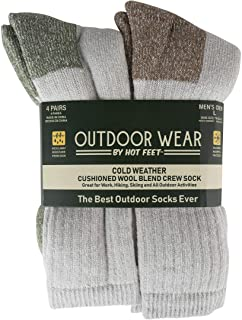 Men's 12-Pack FreshIQ Odor Control Protection Crew Socks Men's Multi-pack Mesh Ventilating Comfort Fit Performance No-show Socks Men's Socks - Lightweight No-Show Athletic Performance Ankle Sock Liners (6 Pack) Mens Active Work and Outdoors Socks, Fully Cushioned, Thermal Wool Blend, 4 Pack Warm Reinforced Heel and Toe