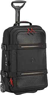Delsey Montsouris 55cm Carry On Hybrid Luggage - Black (New Version)