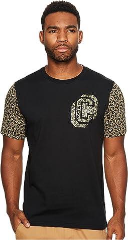 Converse - Leopard Collegiate Short Sleeve Tee
