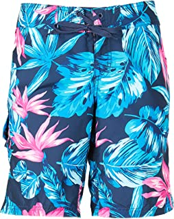 Kanu Surf Women's Hayley UPF 50+ Active Printed Swim and Workout Board Short