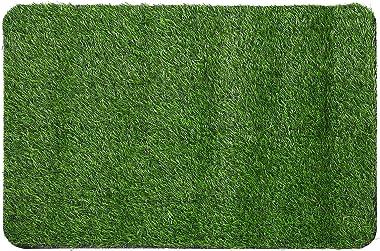 Cabilock Turf Doormat Artificial Grass Outdoor Rug Entrance Dirt Mat Entryway Shoe Scraper for Household Indoorシ45cmテ70cmシ