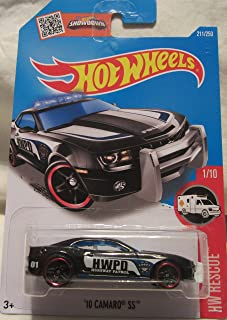Hot Wheels 2016 HW Rescue '10 Camaro SS (Police Car) 211/250, Black