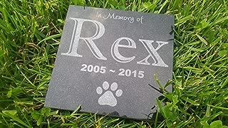 Personalised Pet Stone Memorial Marker Granite Marker Dog Cat Horse Bird Human 6