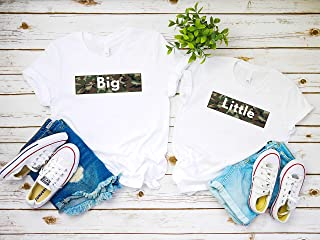 Big Little GBig Sorority College shirts,big little sorority gift with camo print, Friends Inspired sorority shirts,big little reveal gift for her