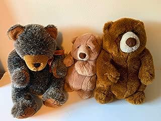 Weighted stuffed animal - teddy bear sensory toy 2-3 lbs