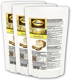 Dr. Almond Paleo Backmischung TOASTBROT low-carb glutenfrei sojafrei 3er Pack