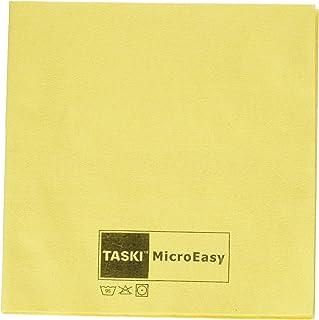 Panni in Microfibra per la Pulizia 5 Pezzi Tecnologia in Tessuto Non Tessuto Verde Taski MicroEasy