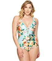 BECCA by Rebecca Virtue - Plus Size High Tea One-Piece