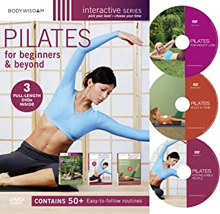 Pilates For Beginners & Beyond Boxed Set: (Pilates for Inflexible People / Pilates Complete for Weight Loss / Pilates Complete Sculpt and Tone)