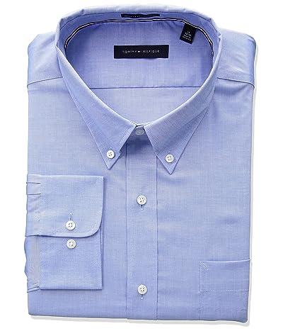 Tommy Hilfiger Non Iron Regular Fit Solid Dress Shirt