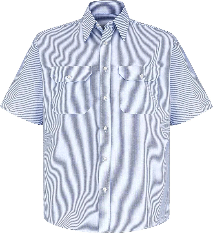 Red Kap Men's Deluxe Uniform Shirt