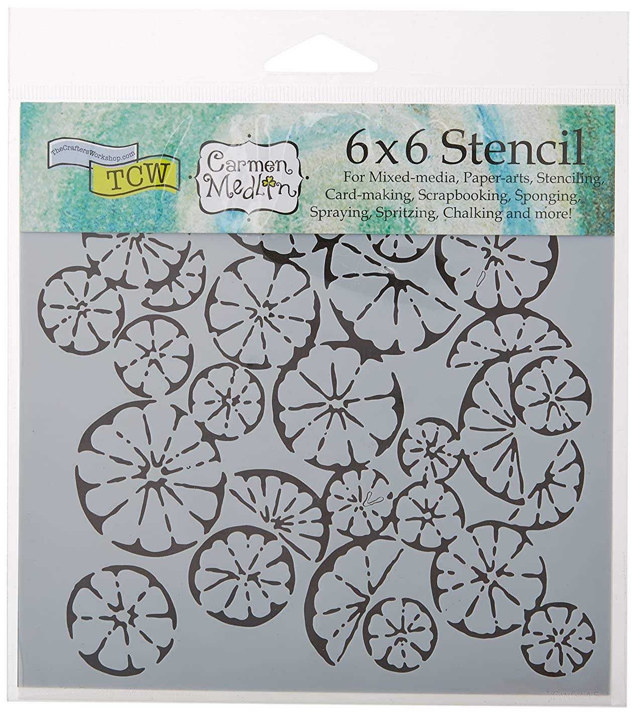 CRAFTERS WORKSHOP TCW614S Template, 6