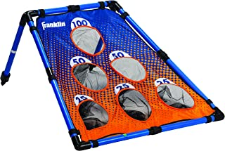 Franklin Sports Cornhole Bean Bag Toss — Includes 6 Cornhole Bean Bags and 1 Foldable Target — Great for Kids and Outdoor Family Fun