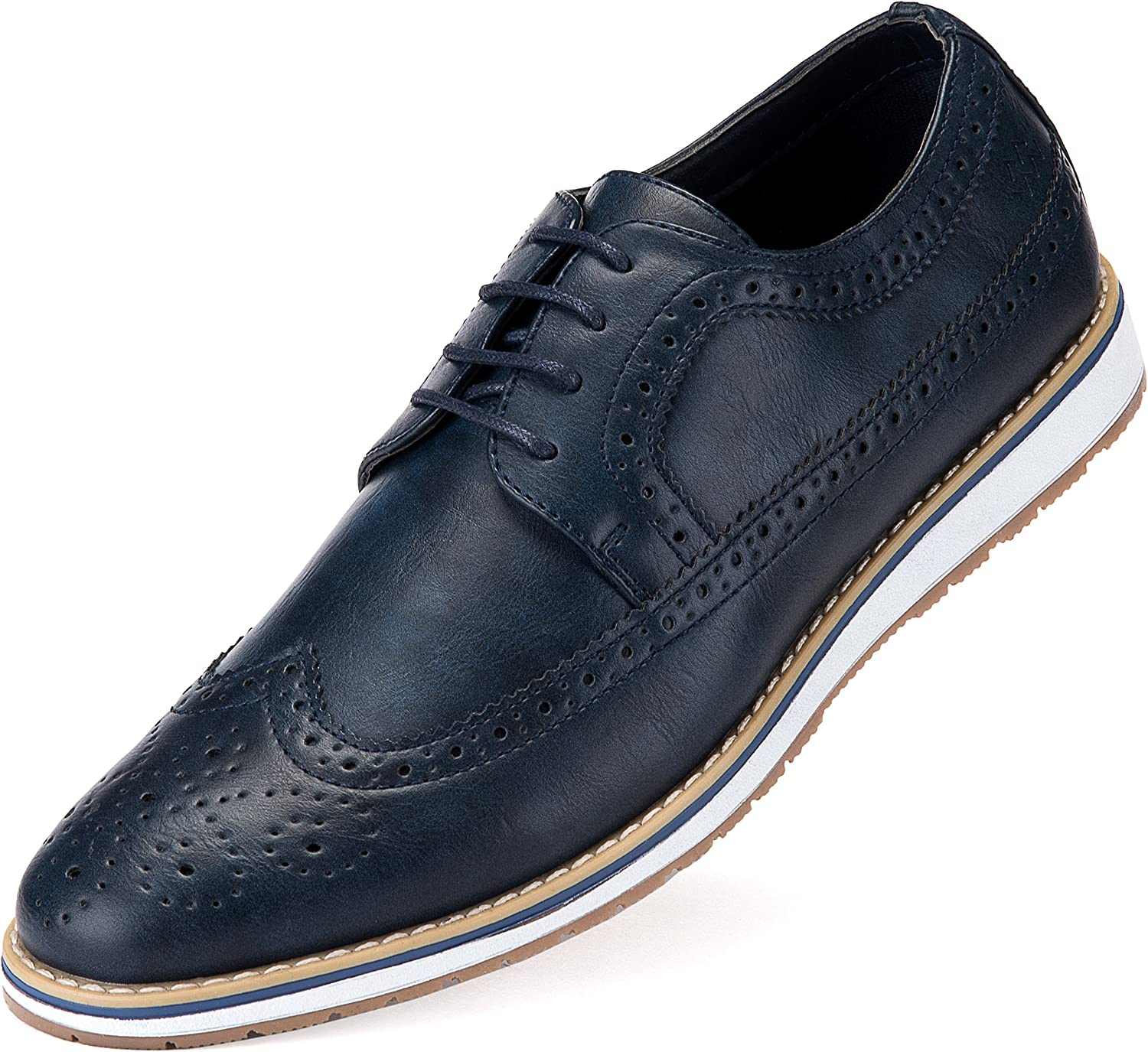Mio Marino Everyday Casual Wingtip Oxford Shoes for Men