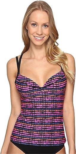 Pink Glo Stripe