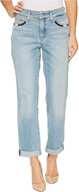 NYDJ - Boyfriend Jeans w/ Wrap Stitch Detail in Westland