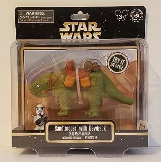 Theme Park Merchandise Disney Parks Star Wars Sandtrooper & Dewback Motorized Figure