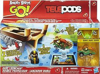 Hasbro 91898 Angry Birds Go, Telepods Dual Launcher