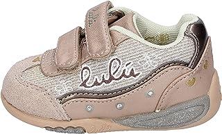 LULU' Sneaker Bambina Tessuto Oro