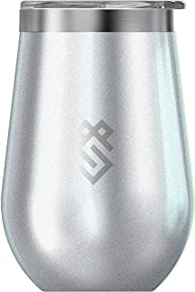 Summit Outdoor Wine Glasses, Vacuum Insulated Wine Tumbler With Lid, Stainless Steel Metal Cup, Unbreakable, Shatterproof, Portable, Travel or Camping. INTEGRITY - Single Tumbler