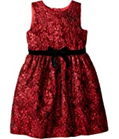 Oscar de la Renta Childrenswear - Sleeveless Floral Dress (Little Kids/Big Kids)