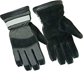 Precinct One Fire Resistant Leather Extrication Glove with Kevlar Liner for Police and Firefighters