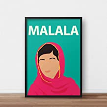 Malala Yousafzai Poster Print - Artwork - Inspirational - Feminist - Education