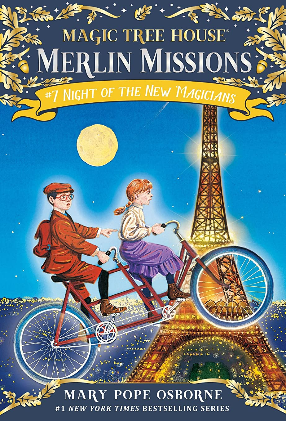 記念碑的なネックレス聴覚障害者Night of the New Magicians (Magic Tree House: Merlin Missions Book 7) (English Edition)