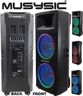 MUSYSIC Professional Dual 2x15
