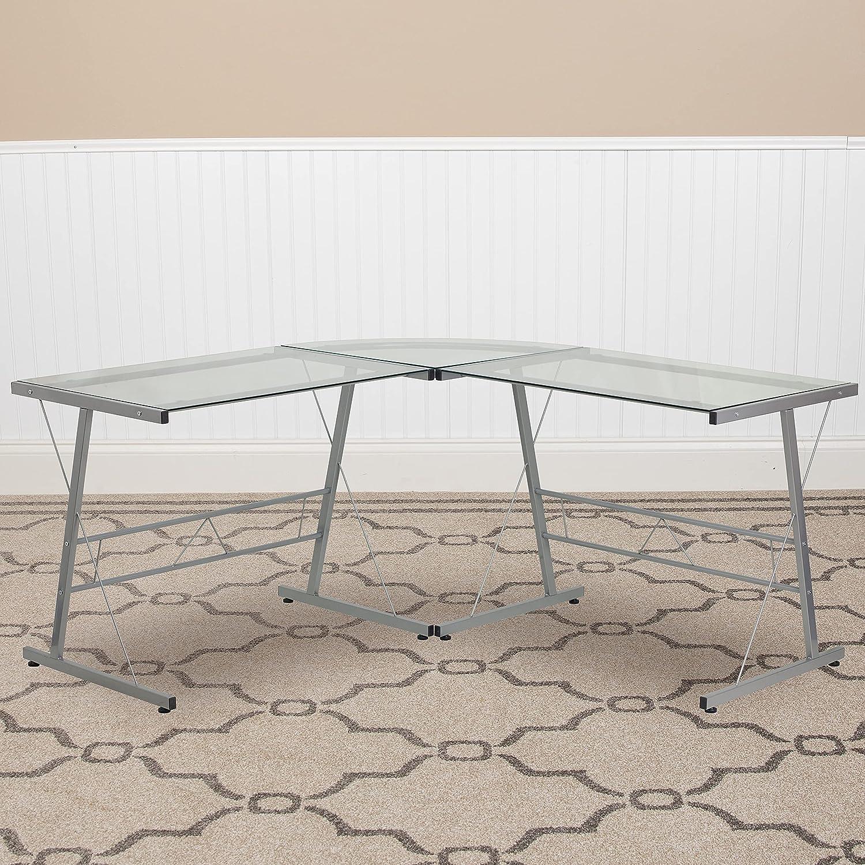 High material Flash Year-end annual account Furniture L-Shaped Desk Corner 83.5