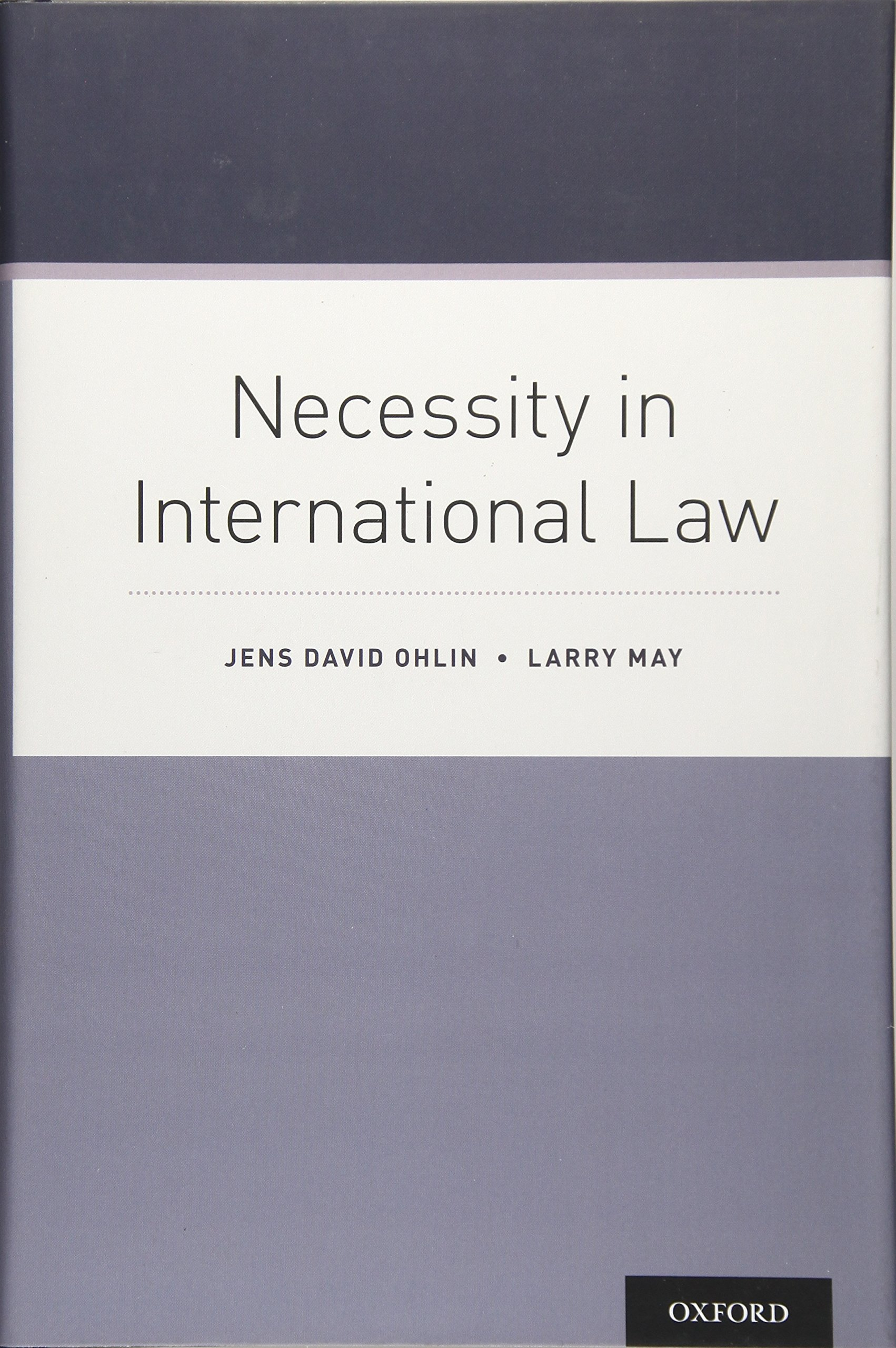 Necessity In International Law
