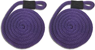 Purple Nylon Fender Line - 3/8 x 6' - Sold in Pairs - Made in USA