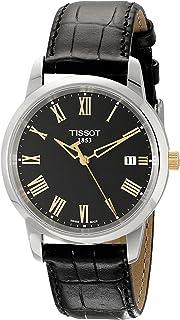 Tissot Men's TIST0334102605301 Class Dream Analog Display Swiss Quartz Black Watch