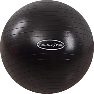 BalanceFrom Anti-Burst and Slip Resistant Exercise Ball...